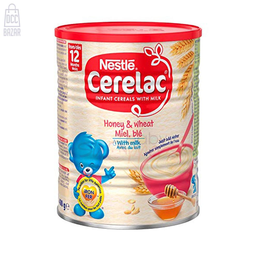 Nestle Cerelac Honey & Wheat with milk 12 months - 1kg