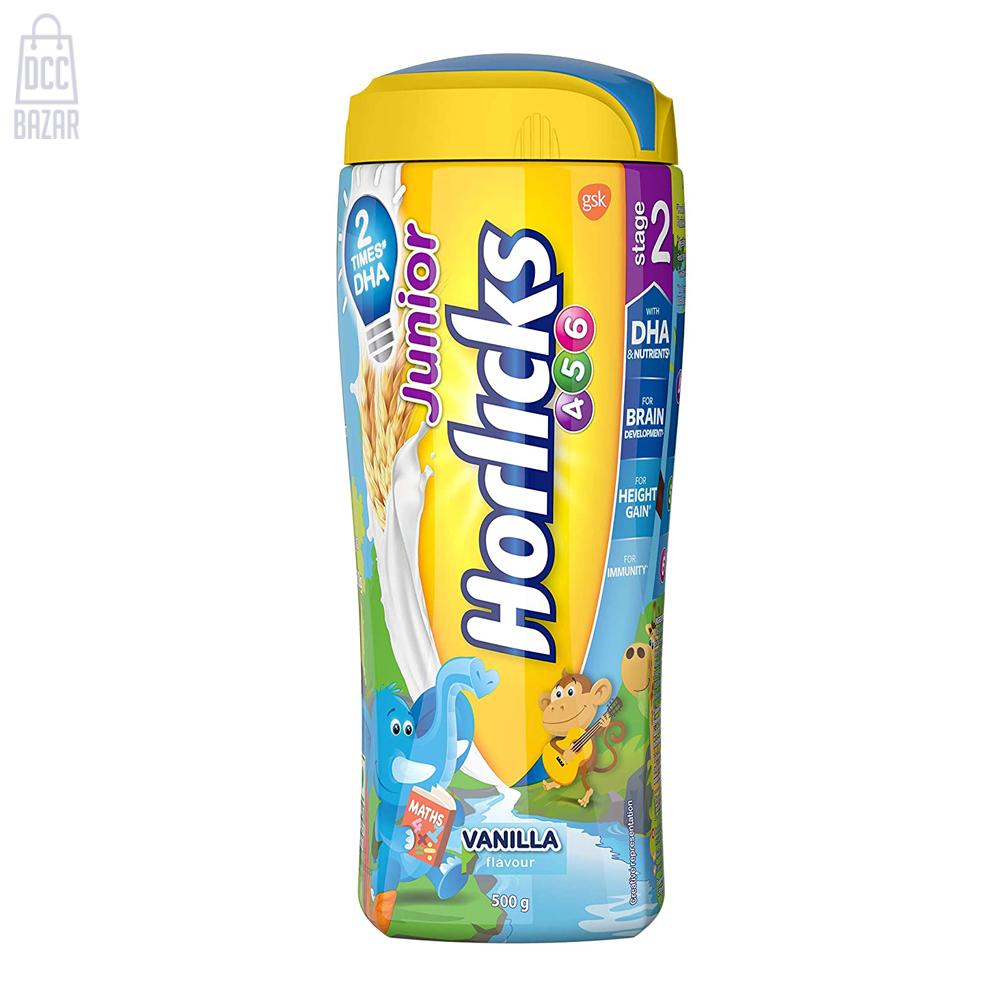 Junior Horlicks Stage 2 4-6 years (Vanilla flavor)- 500g