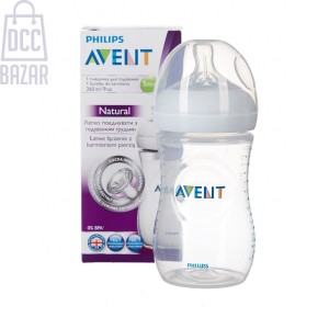 Avent Natural Feeding Bottle 260ml(Without Box)